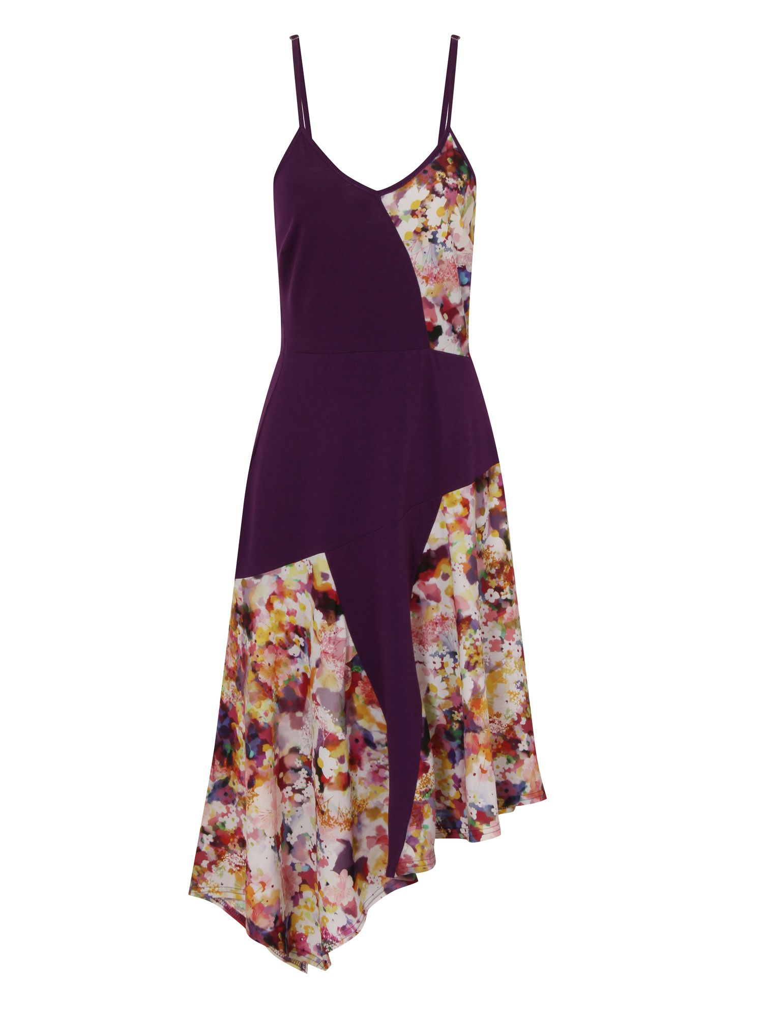 HotSquash Floral Dress in CoolFresh Fabric, Purple