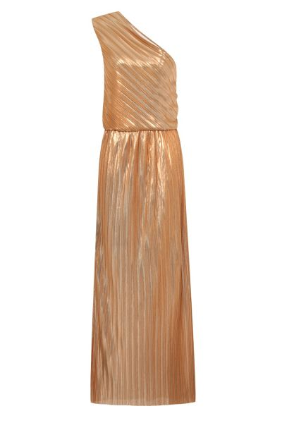 HotSquash Clever-Lined One Shoulder Maxi Dress