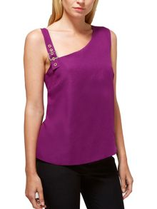 HotSquash Buckle Shoulder Top in CoolFresh Fabric