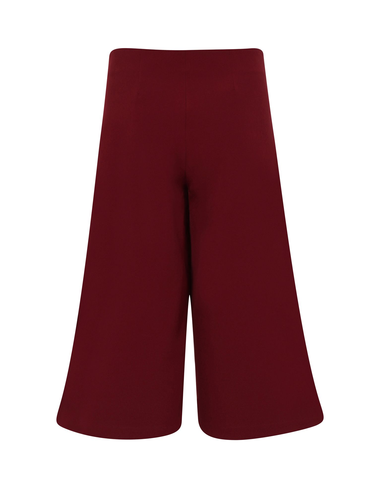 HotSquash Easycare Culottes in Clever Fabric, Red