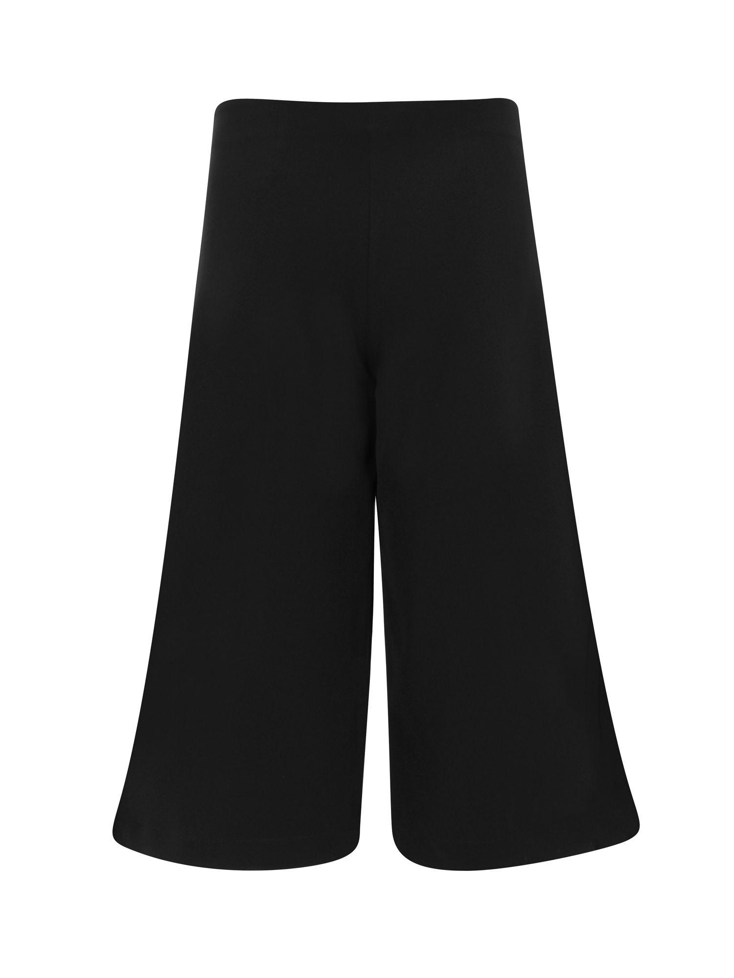 HotSquash Easycare Culottes in Clever Fabric, Black