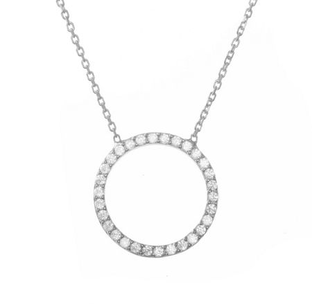 Lucky Eyes Circle of Life Necklace