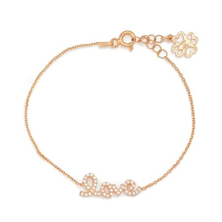 Lucky Eyes Rose `love` bracelet