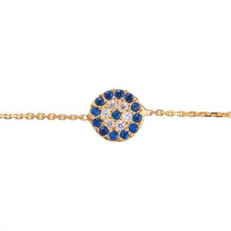 Lucky Eyes Small classic evil eye bracelet