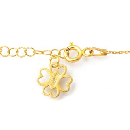 Lucky Eyes Filigree hand bracelet
