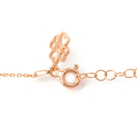 Lucky Eyes Rose four hearts bracelet