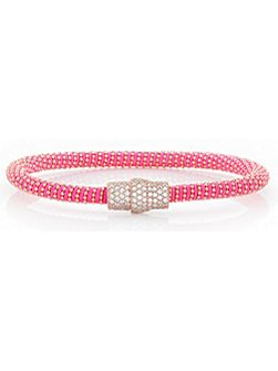Hot pink magnetic bracelet