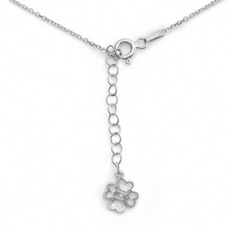 Lucky Eyes Mini letter c necklace