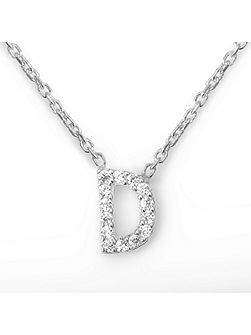 Mini letter d necklace