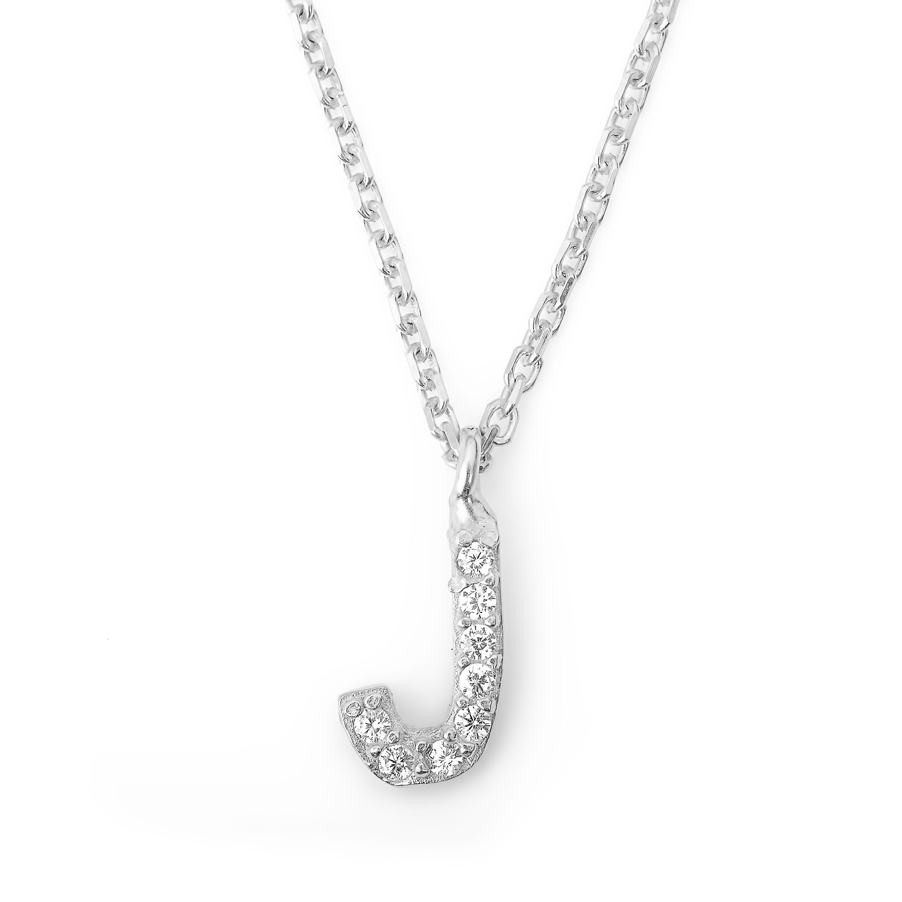 Lucky Eyes Lucky Eyes Mini letter j necklace, N/A