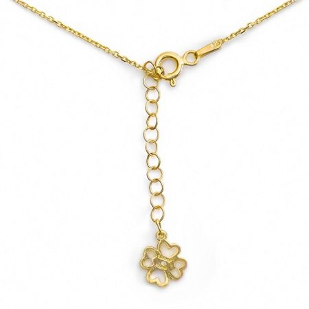 Lucky Eyes Mini letter n necklace