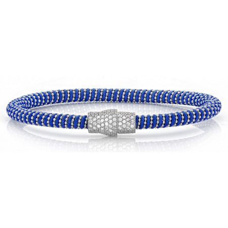 Lucky Eyes Royal blue magnetic bracelet