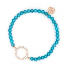 Lucky Eyes Turquoise beaded bracelet