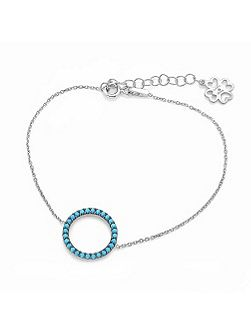 Turquoise Circle of Life Bracelet