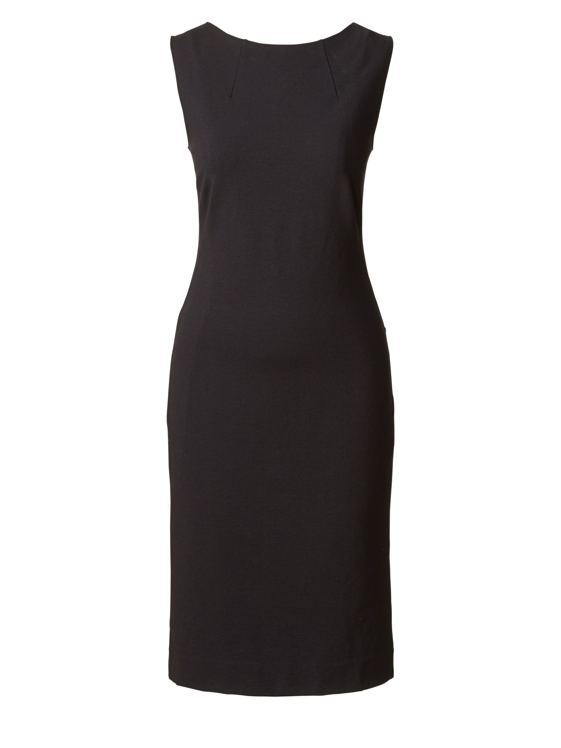 Winser London Miracle Shift Dress, Black