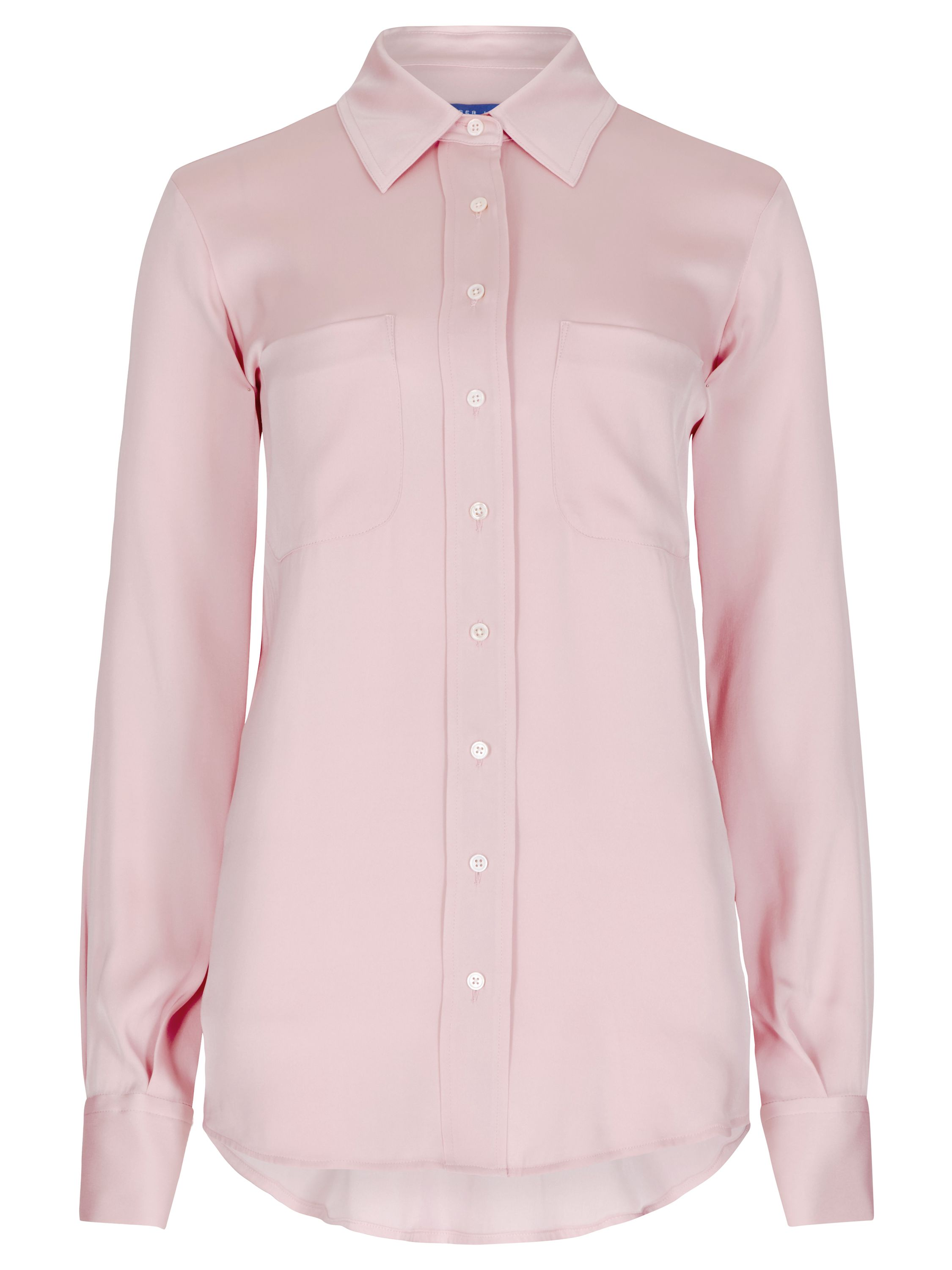 Winser London Silk Shirt, Pink