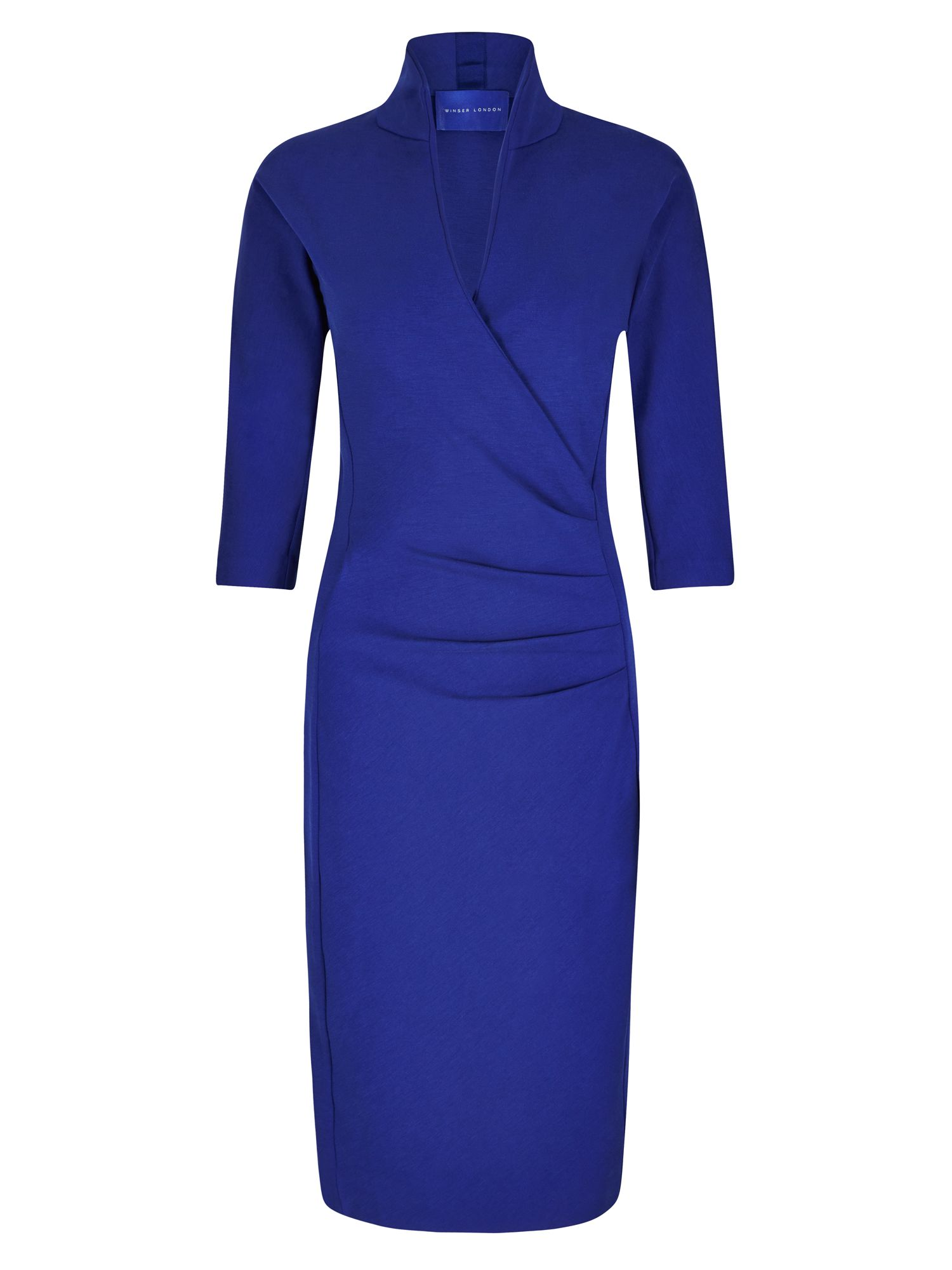 Winser London Grace Miracle Dress, Blue