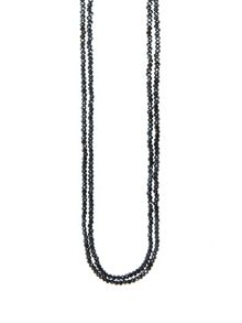 Winser London Long 2 Strand Crystal Necklaces