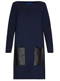 Milano Wool Dress With Pockets
