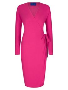 Winser London Wrap Jersey Dress