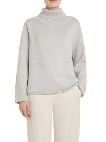 Winser London Wool Luxe Roll Neck