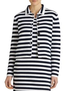 Winser London Textured Striped Cotton Jacket