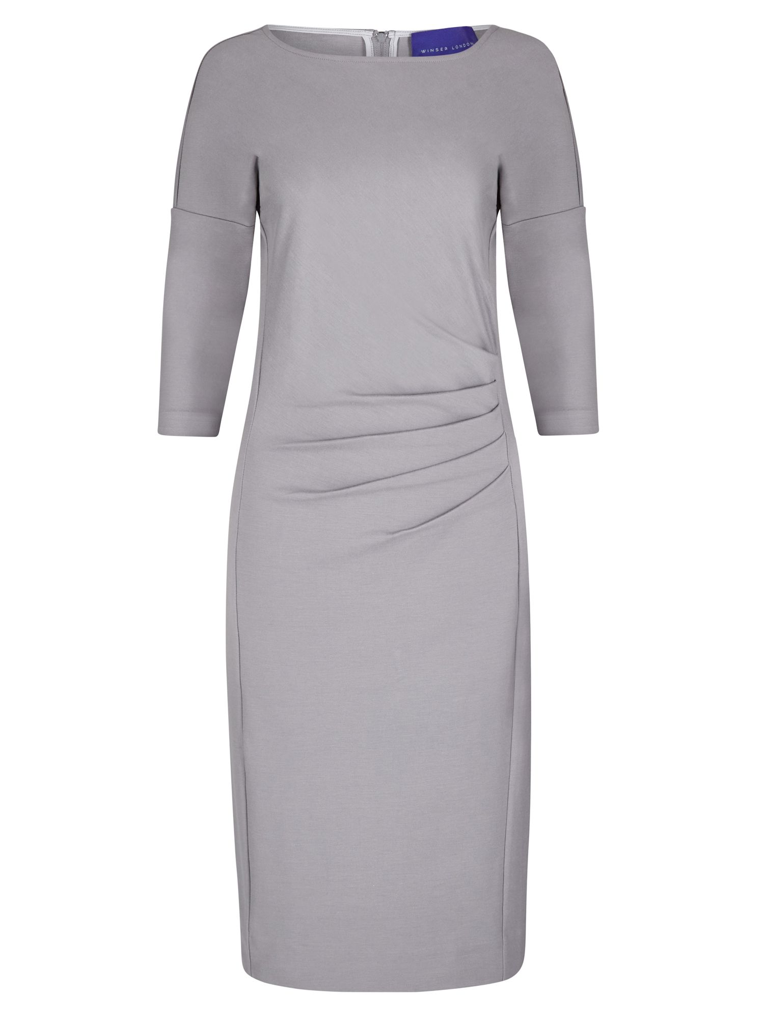 Winser London Miracle Dress, Grey