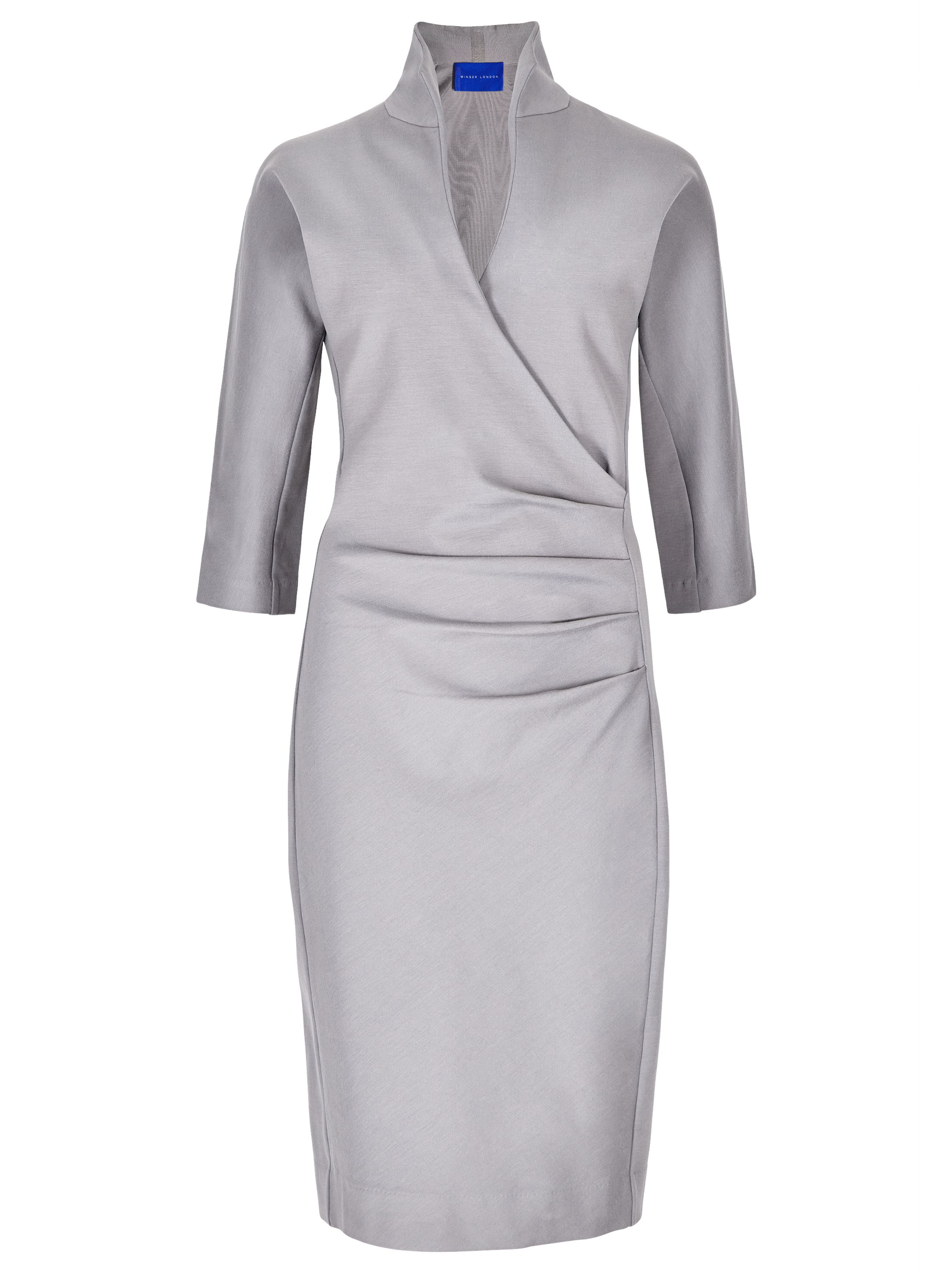 Winser London Grace Miracle Dress, Grey