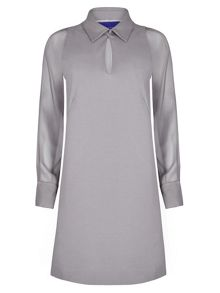 Winser London Miracle Georgette Sleeve Dress