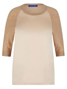 Winser London Silk Front Jumper