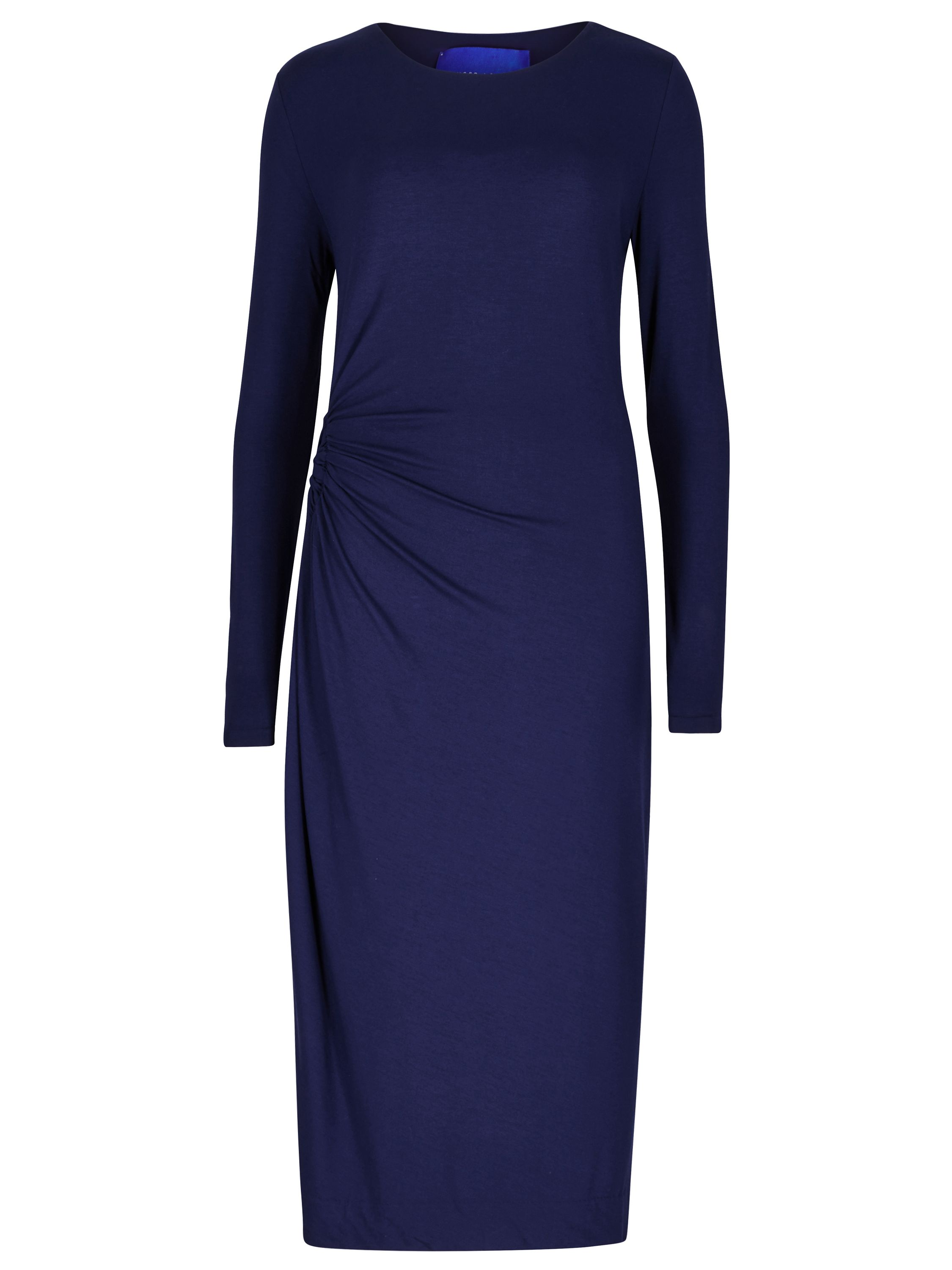 Winser London Rose Jersey Dress, Blue