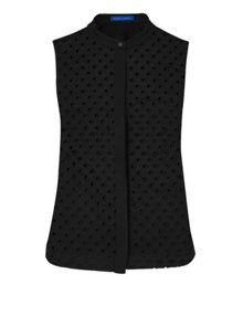 Winser London Broderie Anglaise Sleeveless Top