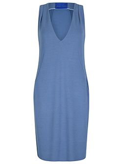 Crepe Jersey Shift Dress