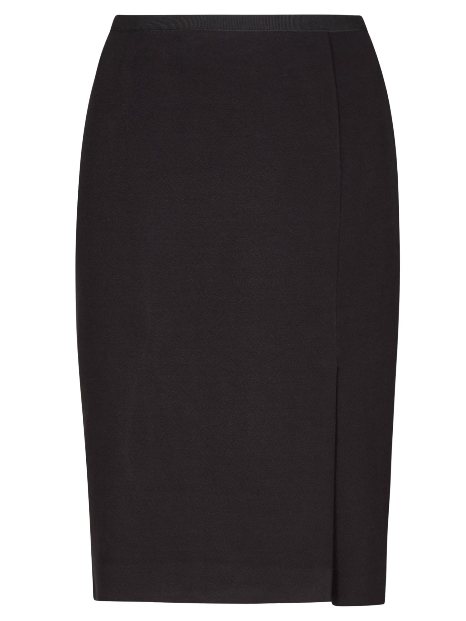 Winser London Crepe Jersey Skirt, Black