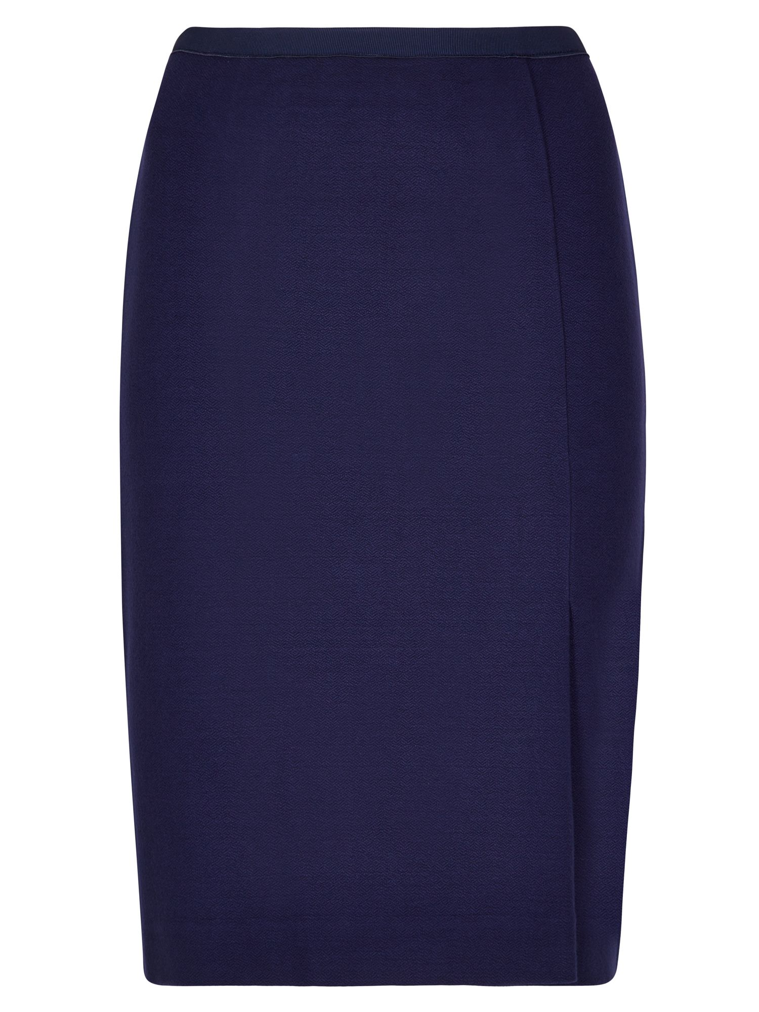Winser London Crepe Jersey Skirt, Blue