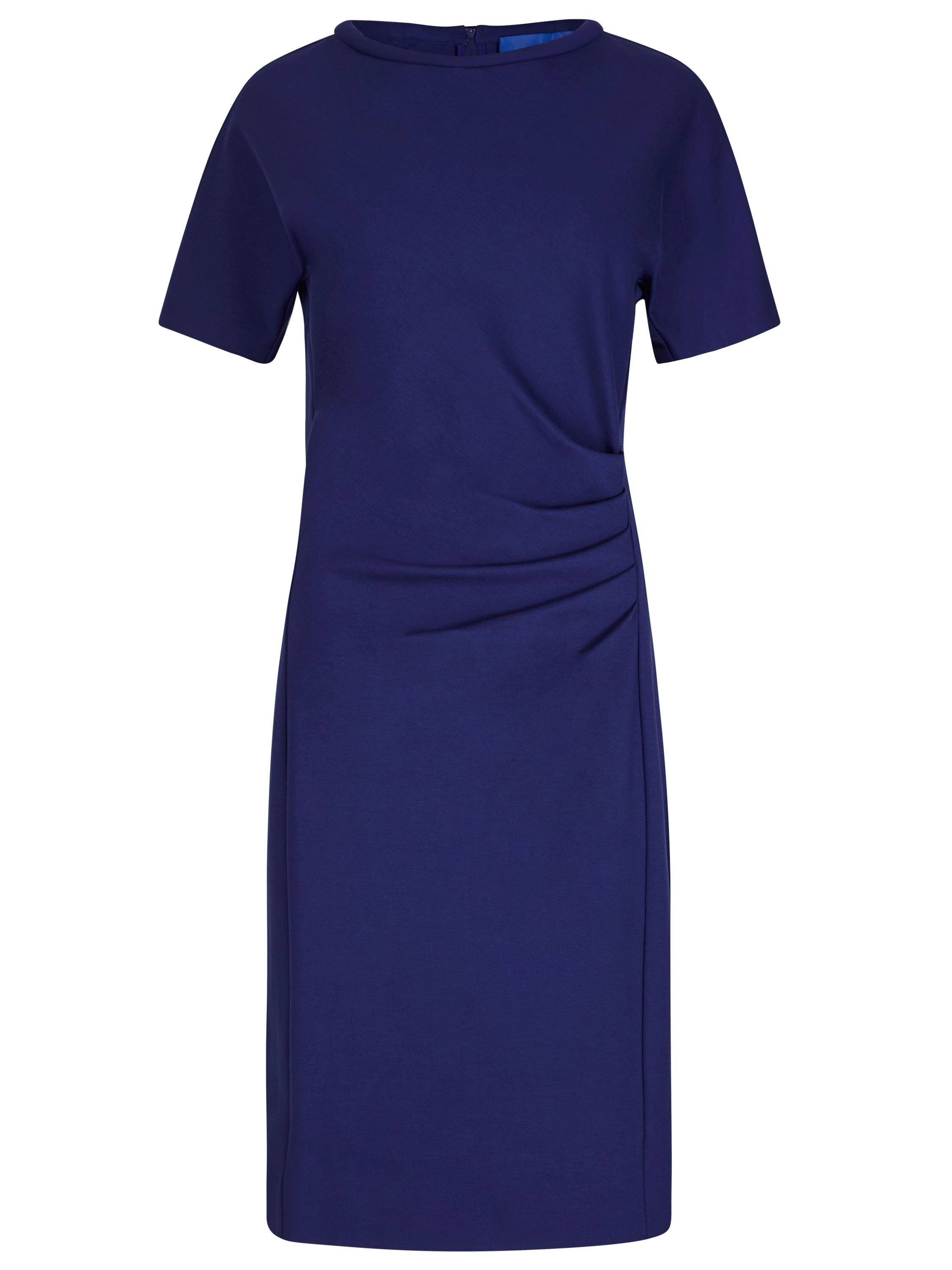 Winser London Miracle Short Sleeve Dress, Blue
