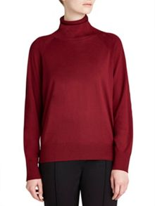 Winser London Merino Wool Roll Neck Jumper