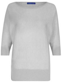 Winser London Merino, Silk & Cashmere Dolman Sleeve Jumper
