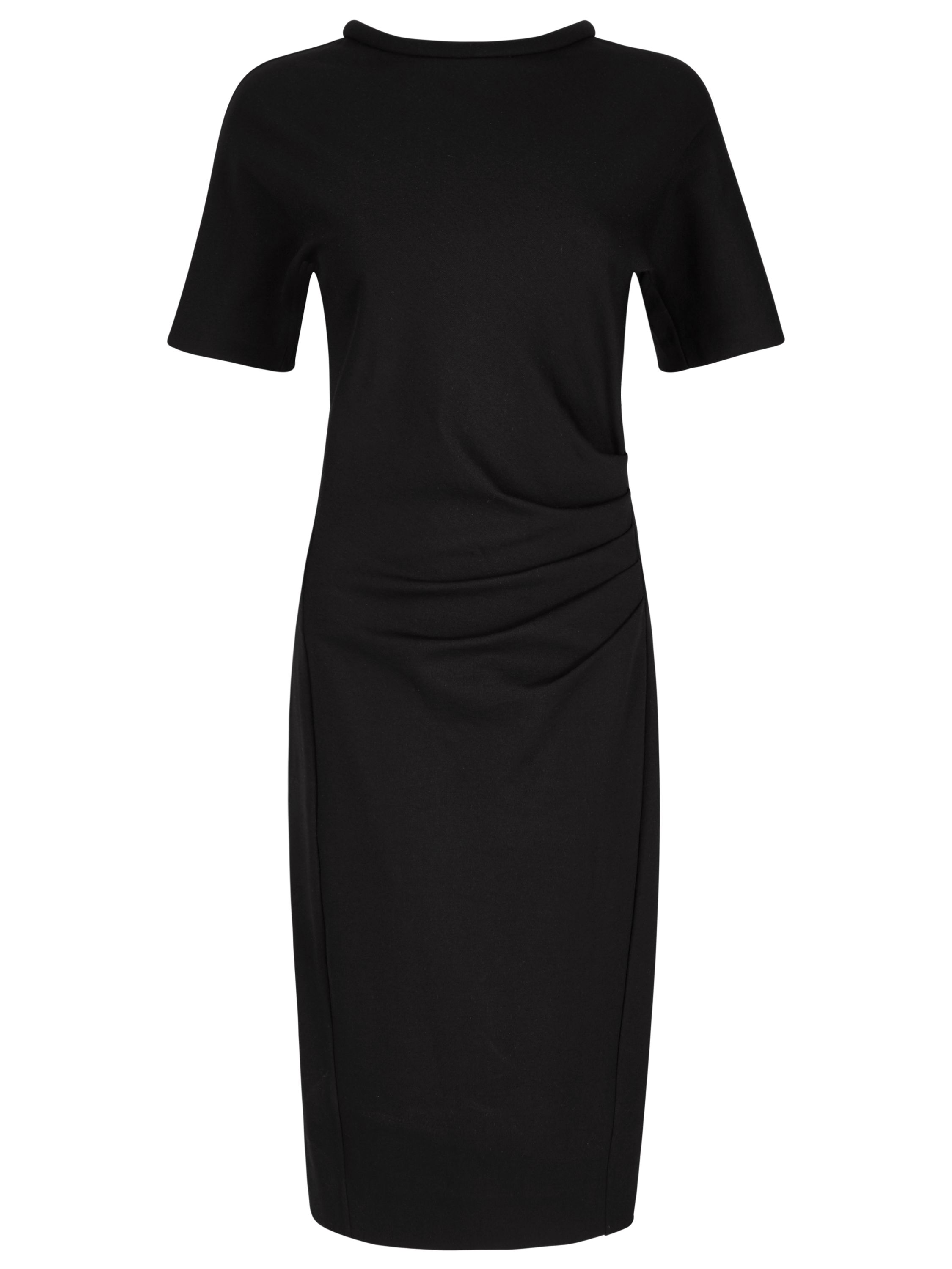 Winser London Miracle Short Sleeve Dress, Black