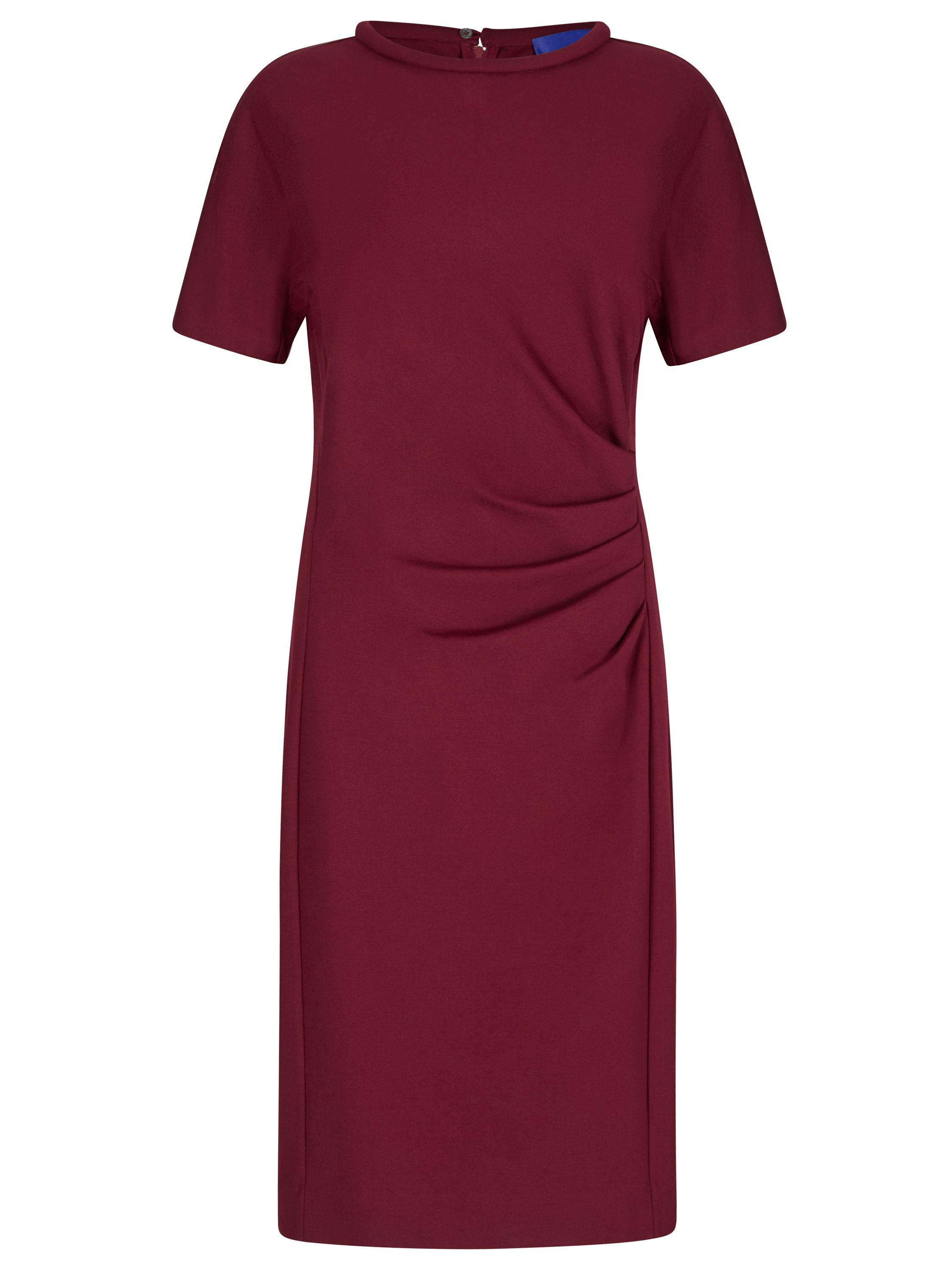 Winser London Miracle Short Sleeve Dress, Red