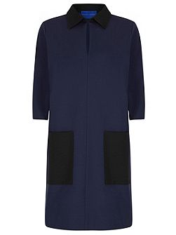 Miracle Colour Block Shift Dress