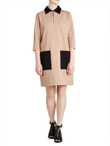 Winser London Miracle Colour Block Shift Dress
