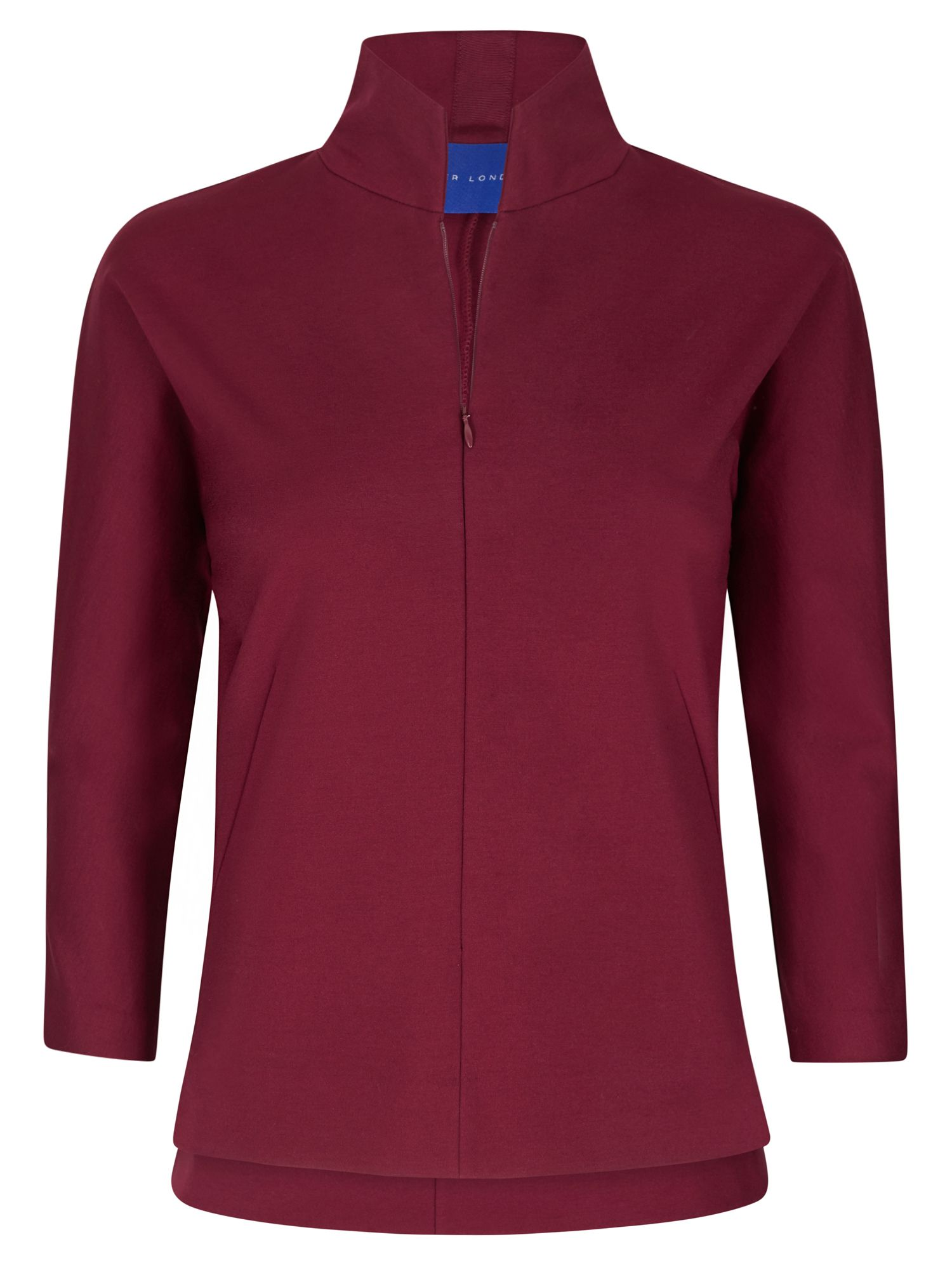 Winser London Emma Miracle Zip Top, Red