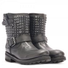 Titan Studded Ankle Biker Boots