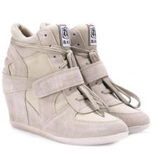 Bowie round toe trainers