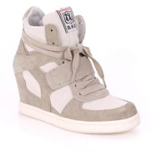 Cool wedge trainers