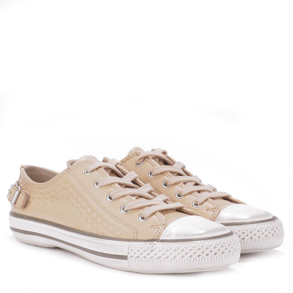 Virgo round toe trainers