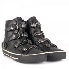 Vodka Leather Buckle Trainers