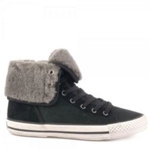 Vanna Fur-Lined Flat Trainers