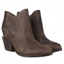 Moka Suede Ankle Boots